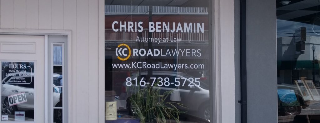 Chris Benjamin Opens New Law Office in Belton Mo